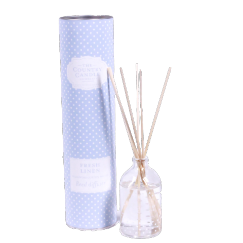Fresh Linen Reed Diffuser - Billowing Cotton Sheets